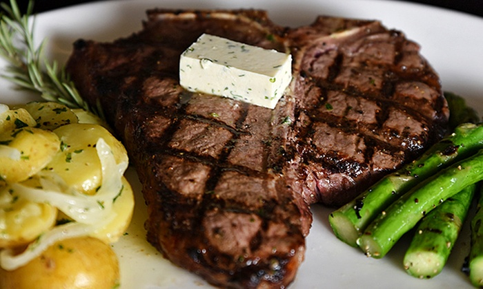 Gaslight Grill - Cornerstone Of Leawood: Steak-House Cuisine for Dinner at Gaslight Grill (Up to 34% Off). Two Options Available.