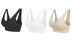3,6 ou 9 brassières confort