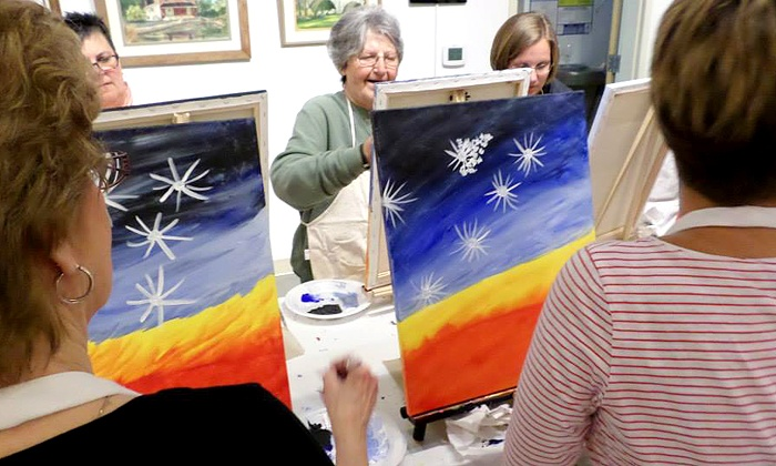 The Fine Arts Company - Hagerstown: Two-Hour Painting Party for One, Two, or Four at The Fine Arts Company (Up to 52% Off)