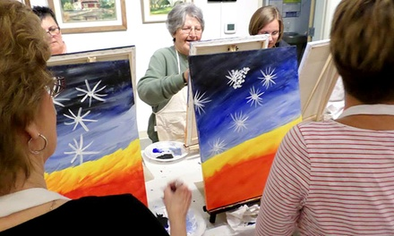 Two-Hour Painting Party for One, Two, or Four at The Fine Arts Company (Up to 46% Off)