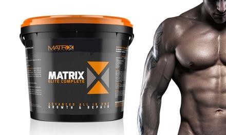 Matrix Elite protéines complètes saut de 2,25Kg ou 4Kg pour gagner en masse musculaire