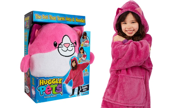 Up To 46 Off On Huggle Pets Animal Hoodie Groupon Goods