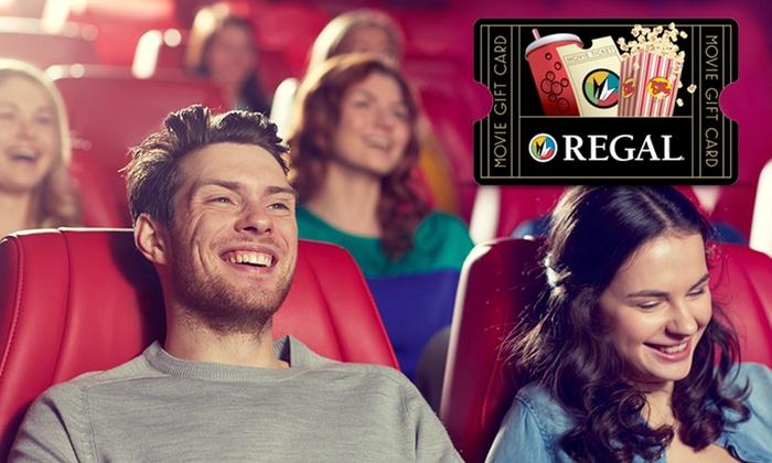 Regal Cinemas: $10 for $20 Regal Cinemas eGift Card