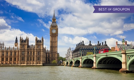 London: 1 or 2 Nights for Two with Breakfast and WiFi at Britannia International Hotel
