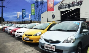2 Cheap Cars: $19 for $100 or $49 for $300 to Spend at 2 Cheap Cars, Eight Locations