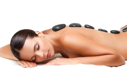 $39 for Deep Tissue Hot Stone Massage, or Foot Pamper Pkg + Neck & Shoulders Massage @ C-Free Day Spa (Up to $100 Value)