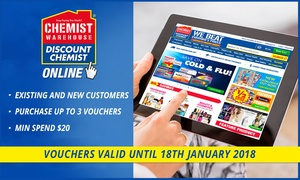 Chemist Warehouse: Free Shipping at Chemist Warehouse Online (Don't Pay $8.95)