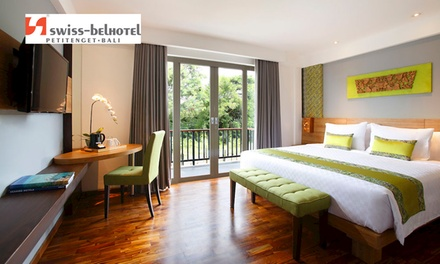 Bali, Seminyak: 3, 5 or 8 Nights for Two with Breakfast and Airport Transfer at Swiss-Belhotel Petitenget Seminyak