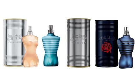 Eau de toilette, eau de parfum uomo e donna Jean Paul Gaultier più Set Regalo disponibili in varie tipologie