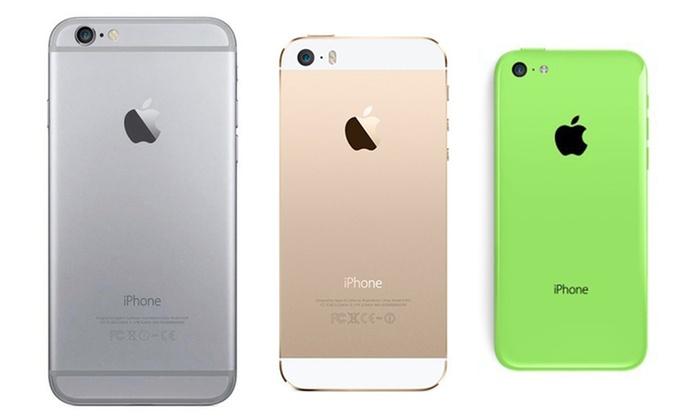 Fénix Deals S.L.: iPhone 4S, 5, 5C, 5S , 6, 6 Plus o 6S reacondicionado desde 99,90 € (hasta 64 % de descuento) con envío gratuito