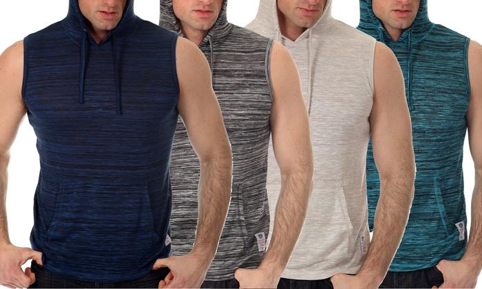 Men's Sleeveless Hoodies (4-Pack) | Groupon
