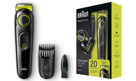 Maquinilla de afeitar Braun BT3021