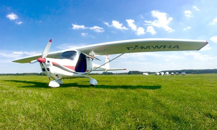 Skycooper - Mehrere Standorte: 30 Min. oder 60 Min. Ultraleichtflugzeug selber fliegen inkl. bei Skycooper (bis zu 70% sparen*)