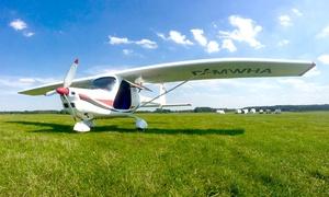 Skycooper: 30 Min. oder 60 Min. Ultraleichtflugzeug selber fliegen inkl. Einweisung und Landung bei Skycooper (bis zu 70% sparen*)