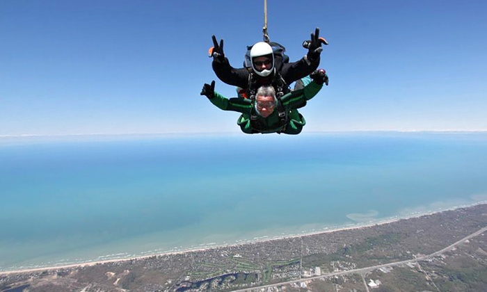 Skydive Horizonz - Hobart: Skydive for One or Two, or Skydive for Four with Pictures at Skydive Horizonz (48% Off)