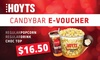 HOYTS - Multiple Locations: HOYTS Trio Candy Voucher: Popcorn, Drink & Choc Top for $16.50 (Don't pay $22.65) - 38 Cinemas Nationwide