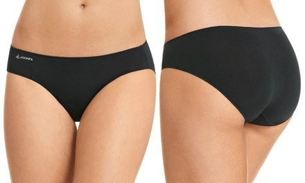 $29 for Five-Pack of Women's Jockey Tactel Microfibre Hipster Bikini (Don't Pay $89.75)