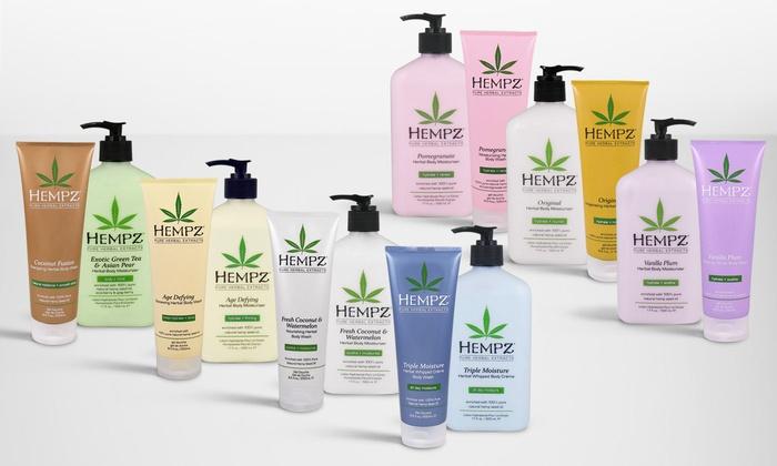 Hempz Herbal Body Moisturizer and Body Wash Set