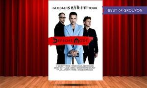 Ontours: Aller retour en bus avec billets pour assister aux concerts de Depeche Mode dès 89 € à Nice ou à Paris