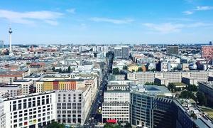Panoramapunkt: 2 VIP-Auffahrten für den Panoramapunkt Berlin inkl. 360°-Panoramakarte und Berlin-Stadtführer (50% sparen*)