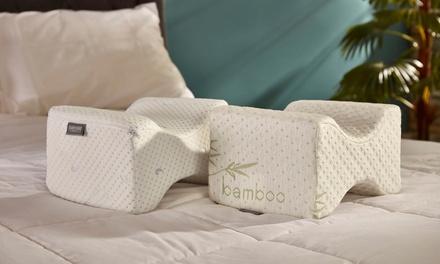 Starry Night Coolmax Memory Foam or Bamboo Memory Foam Knee Pillow