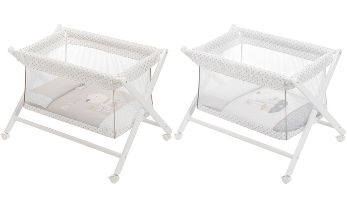 See-Through Foldable Mini Baby Crib With Free Delivery from £66.99