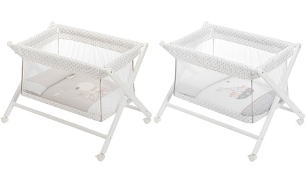 See-Through Mini Baby Crib