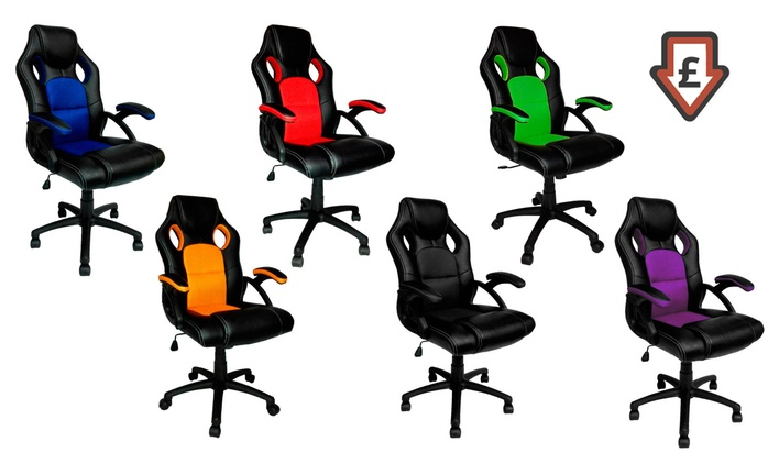 Racing-Style Office Chair for £49.99 With Free Delivery (50% Off)
