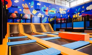 Dubai Bowling Centre: Trampoline Park Access for Up to Ten at Jump Up at Dubai Bowling Center (Up to 42% Off)