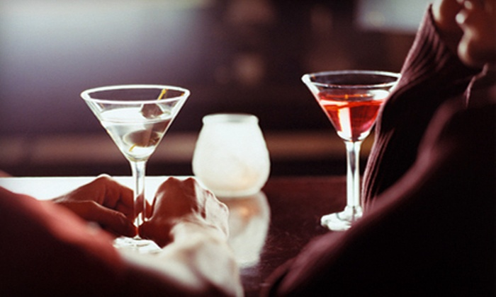 Mova Lounge D.C. - U Street - Cardozo: Specialty-Martini Tasting for Two with Three or Five Samples per Person at Mova Lounge D.C. (Up to 54% Off)