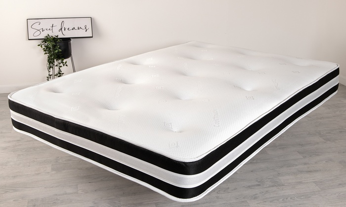 3D Deep-Quilted Orthopaedic Mattress