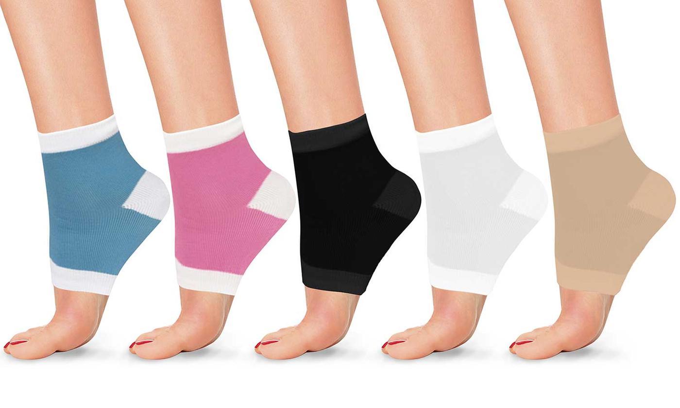 Gel Moisturizing Heel Socks