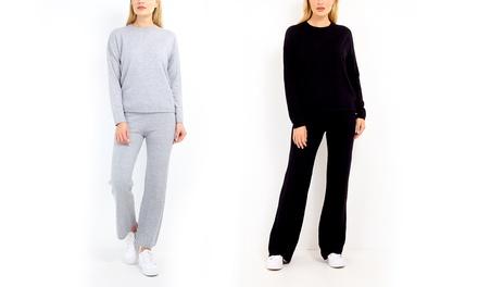 Zachte wollen trui en broek voor dames van Brave Soul