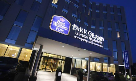 Greater London: 1 or 2 Nights with Breakfast at the 4* Park Grand London Heathrow