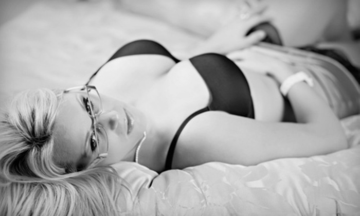 Rivard Photography - London: Boudoir Photo-Shoot Package for One or Two with Digital Images at Rivard Photography (94% Off)