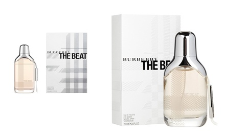 Eau de parfum Burberry The Beat Women 50ml ou 75ml pour femme