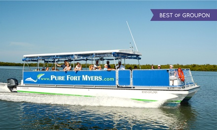 $21 for a River Excursion or Sunset Cruise for One from Pure Ft. Myers (Up to $35 Value)