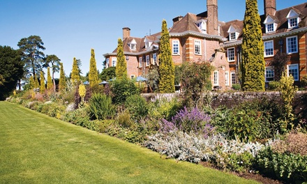 Guildford Surrey: 1Night Stay for Two with Breakfast and AA Rosette Dinner at 4* Barnett Hill Country House Hotel
