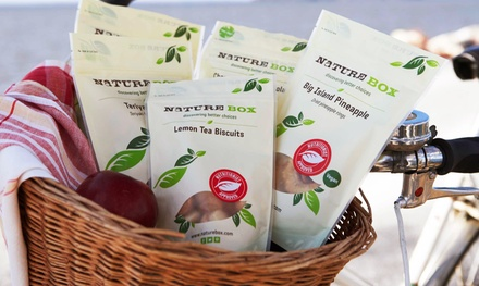 $35 for a Three-Month Deluxe Package Subscription to NatureBox ($59.85 Value)