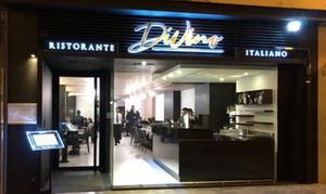 Ristorante Divino: Alta cocina italiana con entrante, principal, postre y botella de vino para 2 o 4 desde 19,90 € en Ristorante Divino