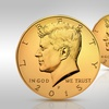 Buy 1 Get 1 Free: 24K-Gold-Plated 2015 JFK Half-Dollars