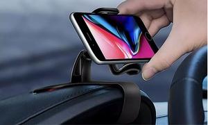 Support smartphone à clip pour tableau de bord voiture