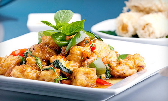 Ideal Thai - Clinton: $25 for a Thai Meal for Two with Appetizers, Entrees, and Beers at Ideal Thai (Up to $57.80 Value)