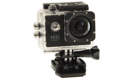 Caméra de sport / Action Cam Full HD avec accessoires