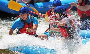 Berkshire East Mountain Resort: Rafting Trip and Mountaintop Zipline Tour for Two or Four from Berkshire East Mountain Resort (46% Off)