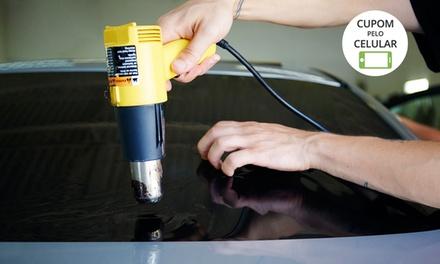 Nb Film – Bela Vista: instalação de película de segurança antivandalismo para carros pequenos, sedan ou SUV
