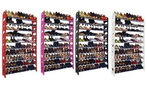 10-Tier Freestanding Shoe Rack at 10-Tier Freestanding Shoe Rack, plus 9.0% Cash Back from Ebates.
