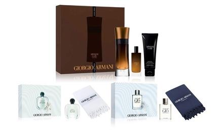 Set Giorgio Armani con fragranze