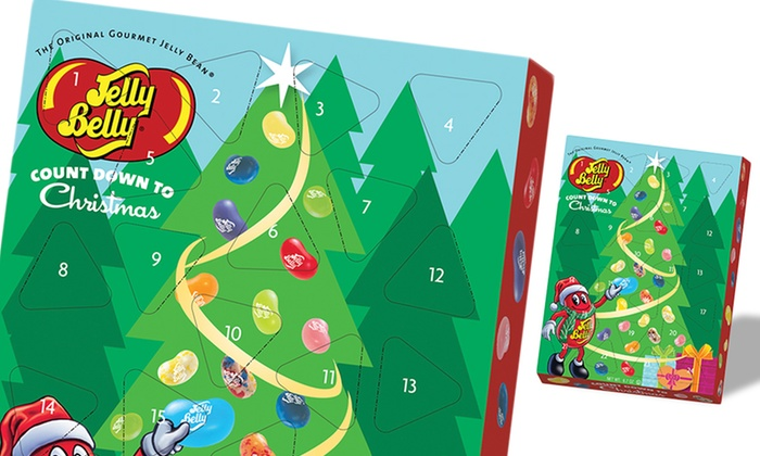 Jelly Belly Countdown to Christmas Calendar: Jelly Belly Countdown to Christmas Calendar