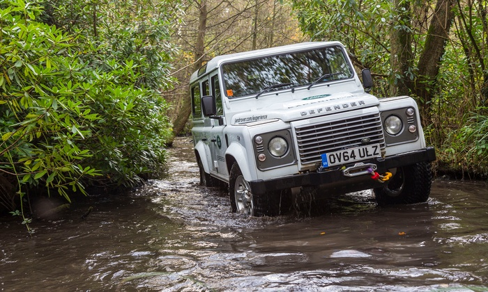 Choice of Manufacturing Tour or Half- or Full-Day Driving Experience at Land Rover - Solihull